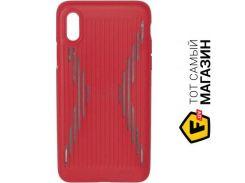 Чехол Joyroom Storm series JR-BP375 iPhone X, Red