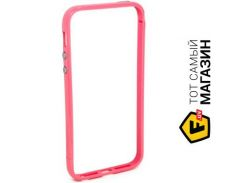 Чехол JCPal Colorful 3 in 1 для iPhone 5S/5 Set-Pink (JCP3219)