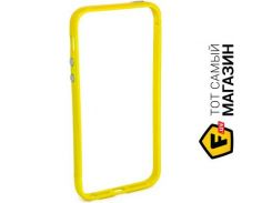Чехол JCPal Colorful 3 in 1 для iPhone 5S/5 Set Yellow (JCP3215)