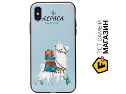 Чехол Joyroom Painting attic series JR-BP03 iPhone X, Alpaca