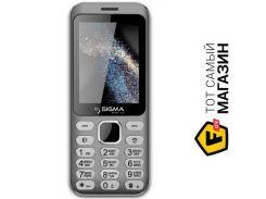 Телефон Sigma Mobile X-style 33 Steel Dual Sim Grey