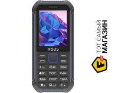 Телефон Nous Hardy NS 2414 Black/Blue