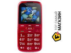 Телефон Sigma Mobile Comfort 50 Slim 2 Red