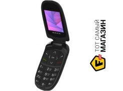 Телефон Maxvi E1 Black