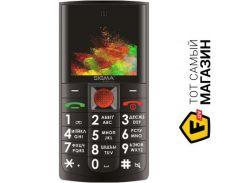 Телефон Sigma Mobile Comfort 50 Solo Black
