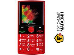 Телефон Sigma Mobile Comfort 50 Solo Red