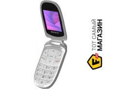 Телефон Maxvi E1 Silver