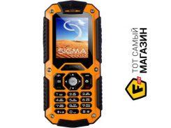Телефон Sigma Mobile X-treme IT67 Orange