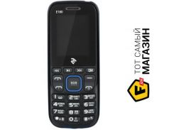 Телефон 2e E180 Dual Sim Black/Blue