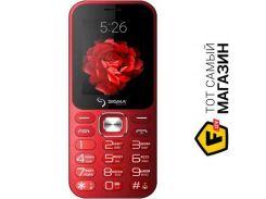 Телефон Sigma Mobile X-style 32 Boombox Red