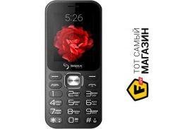 Телефон Sigma Mobile X-style 32 Boombox Black
