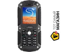 Телефон Sigma Mobile X-treme IT67 Black