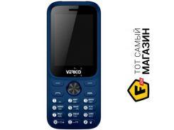 Телефон Verico Carbon M242 Blue