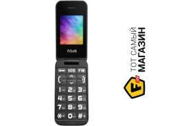 Телефон Nous Helper Flip NS 2435 Black