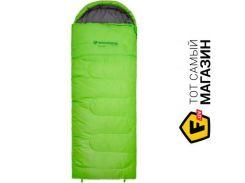 Спальник-одеяло Mousson TOUR L Зеленый