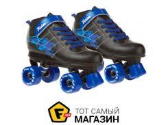 Роликовые коньки SFR Vision 34, black/blue (24318)