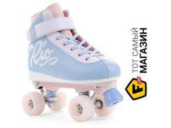Роликовые коньки Rio Roller Milkshake 38, light blue/pink (RIO130B5)