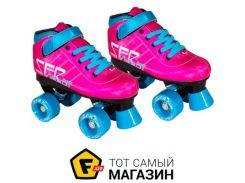 Роликовые коньки SFR Vision Gt 32, pink (343907)