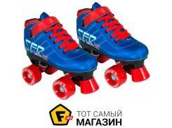 Роликовые коньки SFR Vision Gt 33, blue (343884)