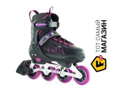 Роликовые коньки SFR Rx-Xt Adjustable 32-35.5, black/pink (RS490)