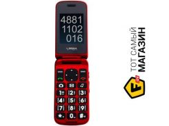 телефон sigma mobile comfort 50 shell dual sim black/red