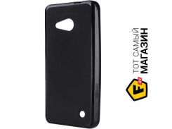 Чехол Drobak Elastic PU для Microsoft Lumia 550, Black (215644)
