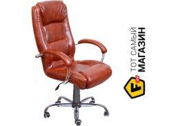 Офисное кресло руководителя AMF Марсель Хром Мадрас табак (33291)