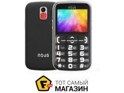 Телефон Nous Helper NS 2422 Black/Silver