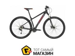 """Велосипед Bergamont Revox 5 2019 27.5"""" черный/серый/красный матовый 17.5"""" (270302159)"""