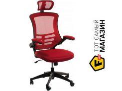 Офисное кресло руководителя Office4you Ragusa красный (27717)