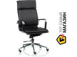 Офисное кресло руководителя Special4you Solano 4 artleather black (E5210)