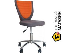 Офисное кресло Office4you Poppy серый/оранжевый