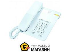 Проводной телефон Alcatel T22 RU White