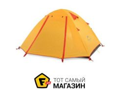 Палатка Naturehike P-Series IIII graphic orange (NH18Z044-P)