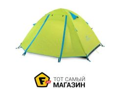Палатка Naturehike P-Series III graphic green (NH18Z033-P)