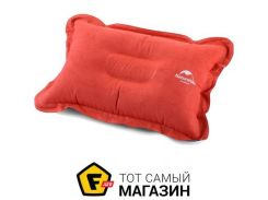 Надувная подушка Naturehike Suede Inflatable Comfortable Pillow orange (NH15A001-L)