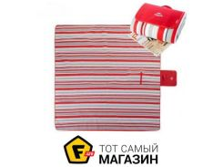 Коврик для пикника Naturehike PM-02 WP 200x200см, red/white strip (NH60C062-Y)