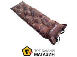 Самонадувной коврик Kingcamp Point Inflatable Mat, camo (KM3505A)