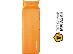 Набор Naturehike One man inflatable pad with pillow orange (NH15Q002-D)