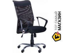 Офисное кресло AMF АЭРО HB Line Неаполь N-20/сетка черная, вставка Неаполь N-20 (26498)