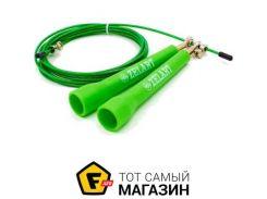 Скакалка Zelart FI-5101 275см, зеленый
