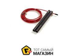 Скакалка Zelart FI-5345 300см, бордовый