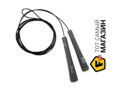 Скакалка Everlast Deluxe Speed Rope with Socket Joint 335см, черный (P00000364)