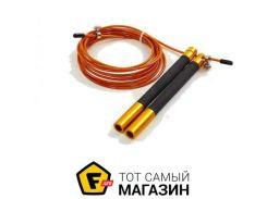 Скакалка Zelart FI-5345 300см, золотой