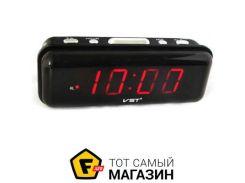 Настольные часы VST 738-1 красный