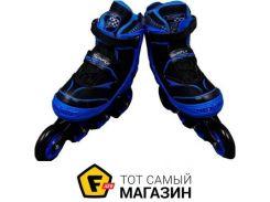 Роликовые коньки Best Rollers S6014 35-38, синий