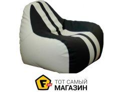 Кресло-мешок Примтекс плюс Simba Sport H-2200/D-5 M, white/black