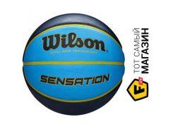 Баскетбольный мяч Wilson Sensation SR 295 7, orange/blue (WTB9118XB0702)