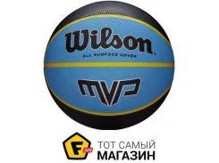 Баскетбольный мяч Wilson MVP 275 5, black/blue (WTB9017XB05)