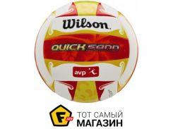 Волейбольный мяч Wilson AVP Quicksand Aloha, red/yellow (WTH489097XB)